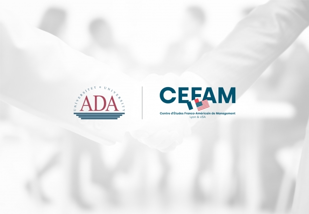 ADA University and CEFAM University in France have signed an academic partnership agreement