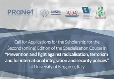 Call for Applications for Scholarship for the Online edition of Specialisation Courses at the University of Bergamo, Italy is open!