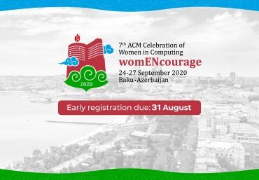 ADA University will virtually host the 7th ACM Celebration of Women in Computing: womENcourage 2020