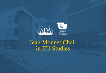 Dr. Anar Valiyev, Deanof ADA University School of Public and International Affairs awarded Jean Monnet Chair