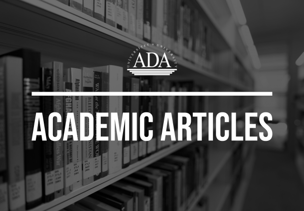 Scholarly article authored by ADA University Assistant Professor was published in Poland