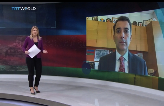 """Vice Rector's interview to the Turkish """"TRT World"""" TV"""