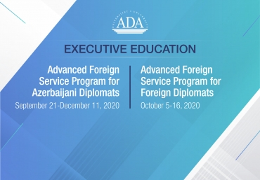 Executive Education launched two training programs for diplomats representing Azerbaijan and the African region