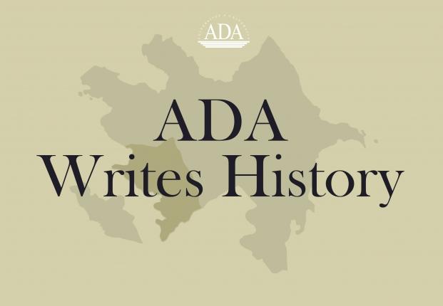 New Project: ADA Writes History