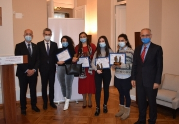 ADA University's Public Administration student was awarded by Gender Equality Prize 2020