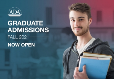 Announcement: Fall 2021 graduate admissions are now open