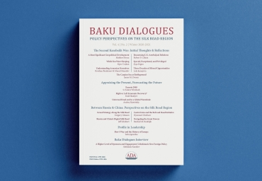 The next volume of Baku Dialogues Journal was published