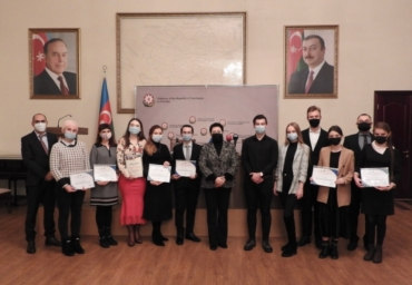 Winners of ''Ukraine-Azerbaijan Diplomatic Relations'' Essay Competition were awarded