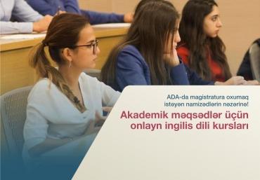 Magistratura Namizədləri üçün Onlayn İngilis Dili Kursları