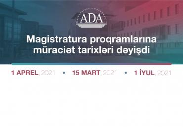 Magistratura Proqramlarına Müraciət Tarixləri Dəyişdi!
