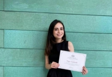 Get to know our graduate student Nigar Gurbanli, MADIA