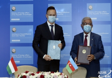 ADA University and Hungarian Diplomatic Academy sign MOU