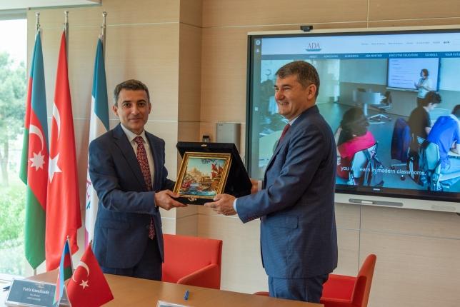 Memorandum signed between ADA University and Turkey's Altinbaş University