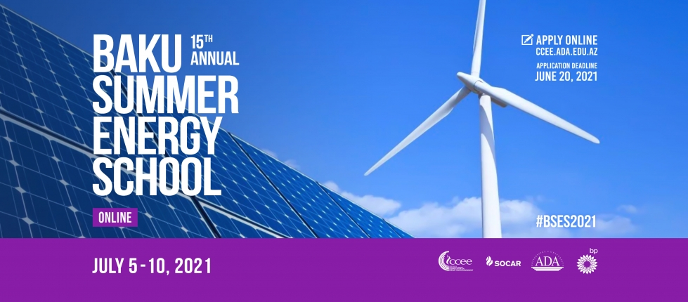 Call for applications: Baku Summer Energy School by the CCEE, ADA University
