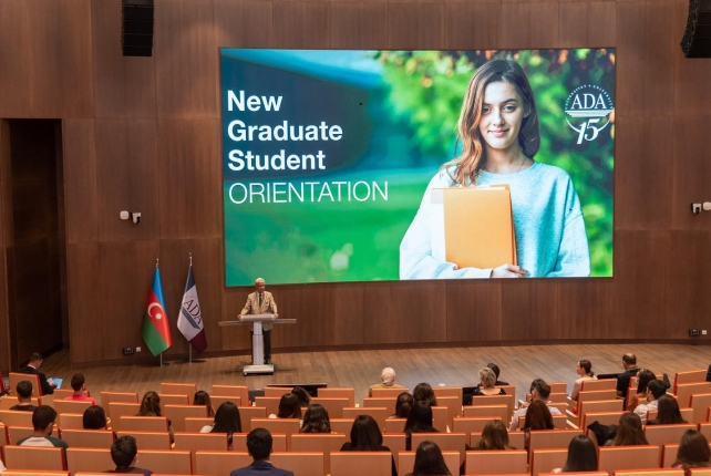 On-campus Orientation day of Graduate students