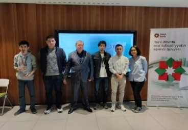 ADA University student secured first place in IT competition