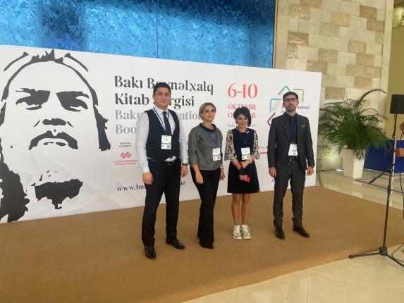 ADA University Library participated in the 7th Baku International Book Fair