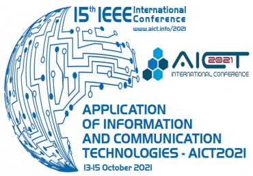 The IEEE 15th International Conference on Application of Information and Communication Technologies starts today